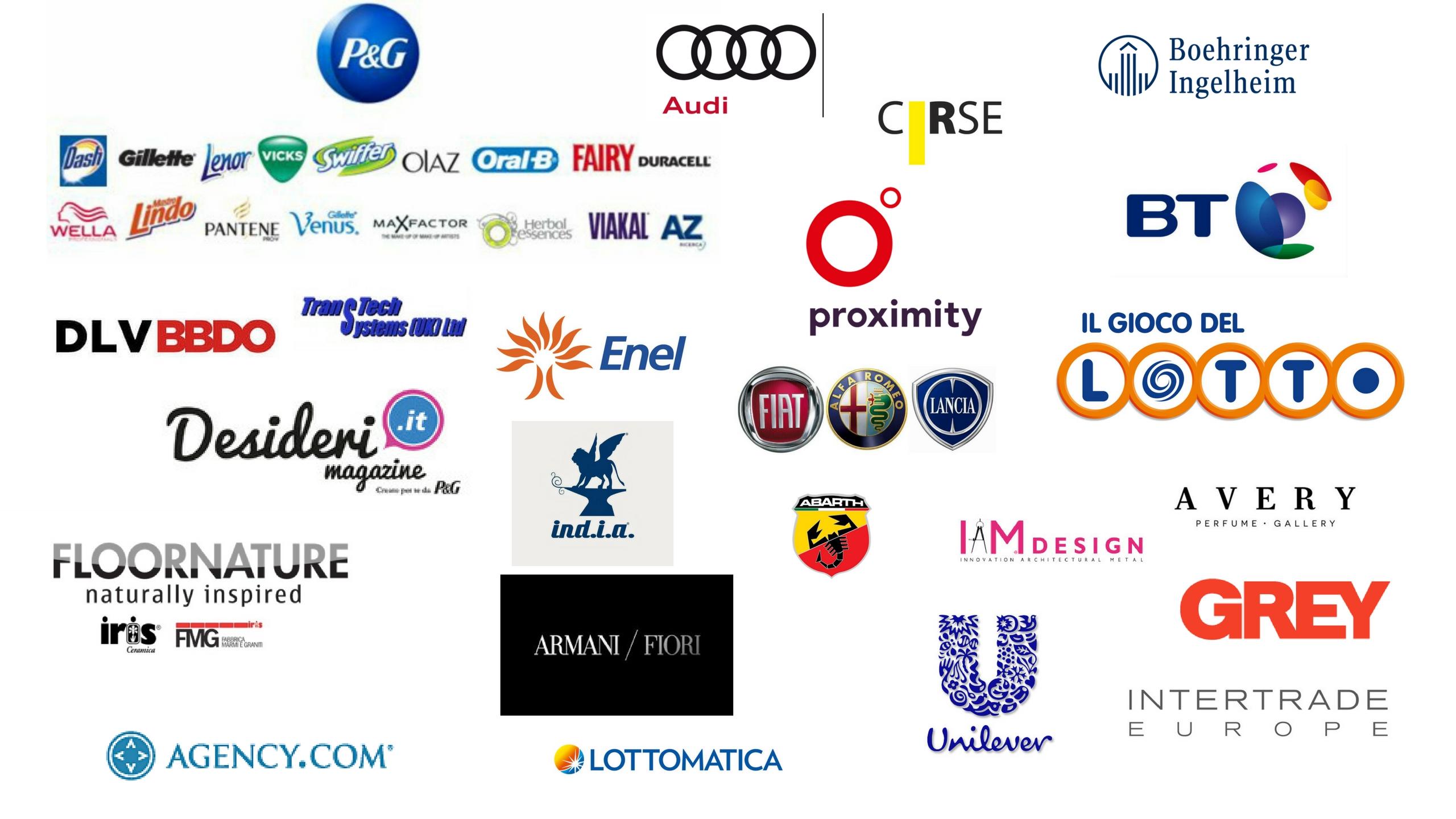 Organizzazioni clienti di Sandra Farisano