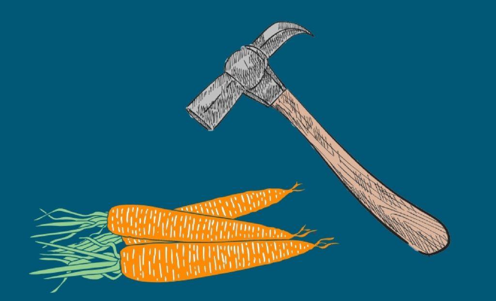 martello e carota
