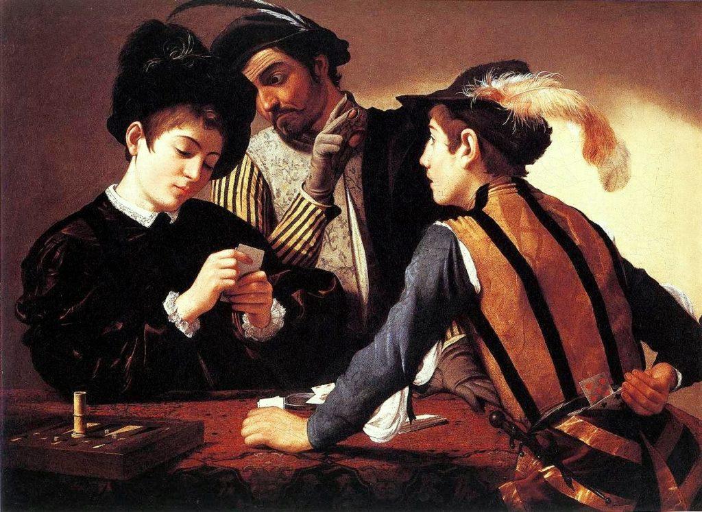 i bari dipinto di Michelangelo Merisi detto il Caravaggio