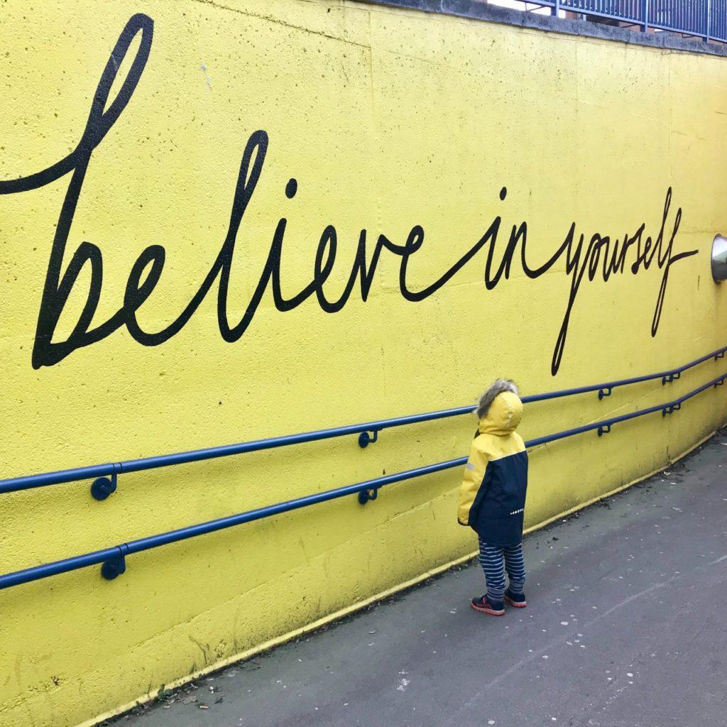 credere in se stessi è essenziale per il benessere